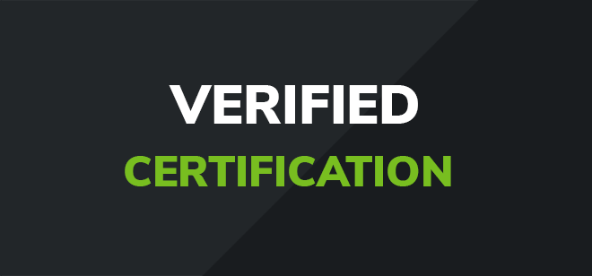 VERIFIED CERT
